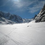 Courmayeur Chamonix: mer de glace